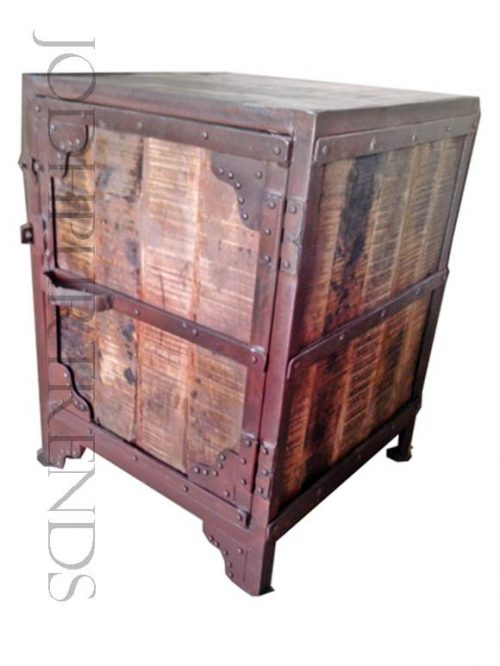 Rustic Office Pedestal | Industrial Style Office Furniture