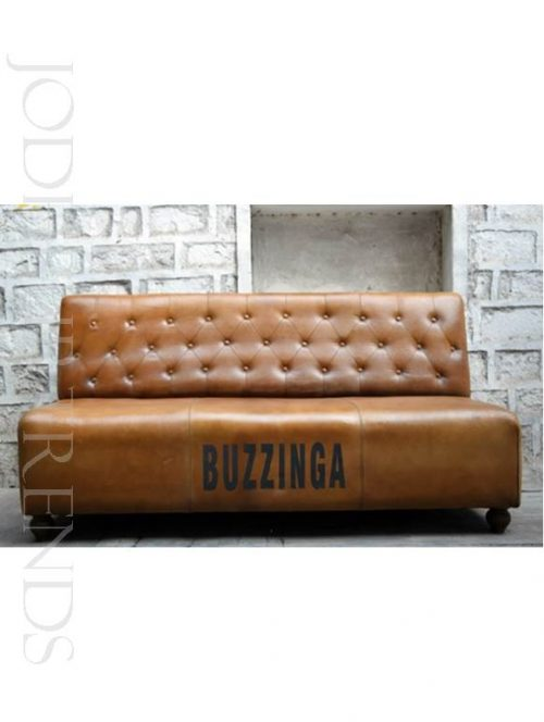 Trendy Sofa in Pure Leather | Genuine Leather Furniture