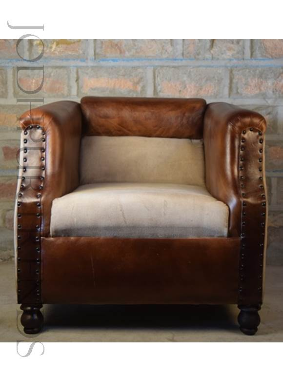 Camelback Luxury Armchair | Leather Furniture Manufacturers