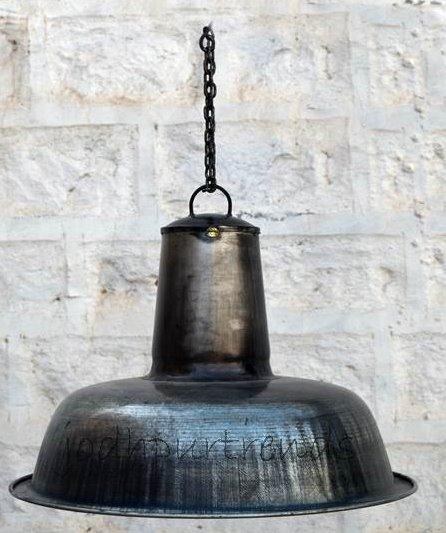 Hanging Lamp in Industrial Metal | Furniture Rustic