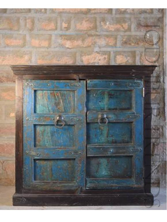 Vintage Reclaimed Wood Sideboard | Recycled Furniture Jodhpur