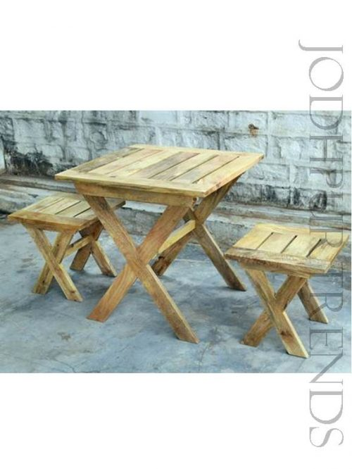 Cafe Dining Table & Chair Set | Shabby Chic Furniture