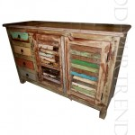 Credenza in Reclaimed Wood   India Bedroom Furniture