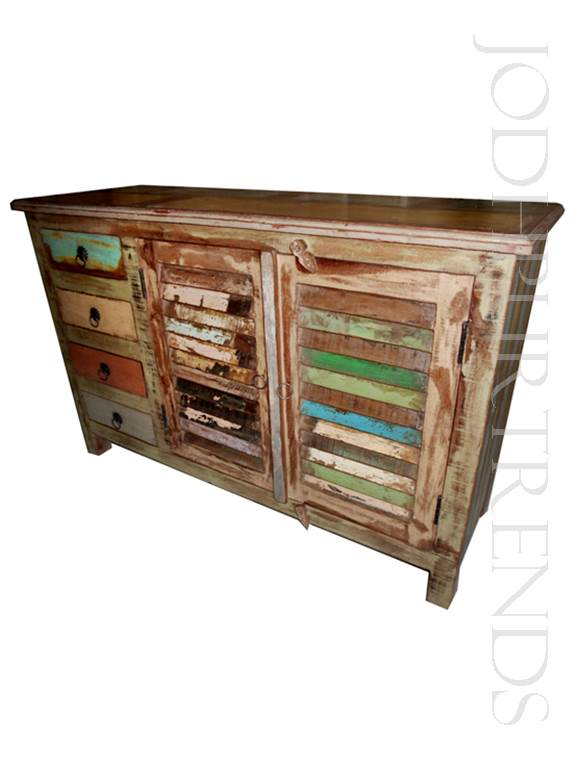 Credenza in Reclaimed Wood | India Bedroom Furniture
