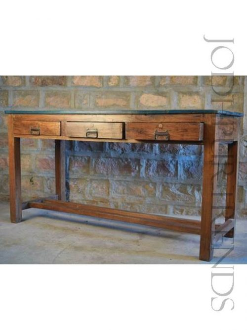 AntiqueStudy Table | Reclaimed Wood Furniture Made In India
