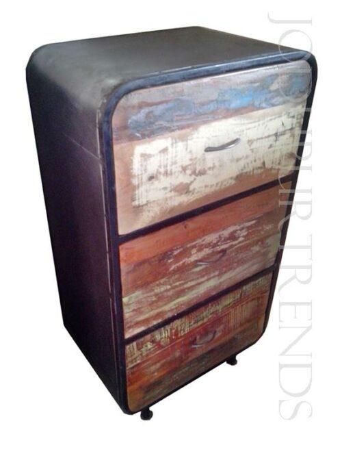 Vintage Bedside | Wholesale Rustic Reclaimed Wood Furniture