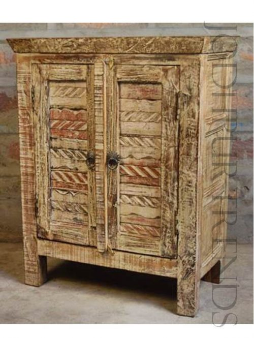 Ethnic Indian Cabinet | Indian Carved Furniture