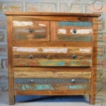 Reclaimed Drawer Chest   Shabby Chic Home Decor Furniture