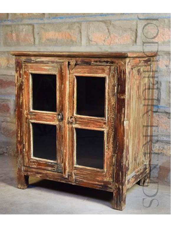 Cabinet in Reclaimed Wood Design | Indian Furniture Cheap