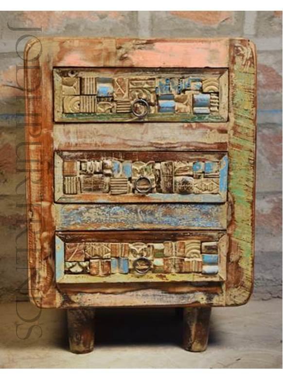 Antique Bedside | Ancient Indian Furniture