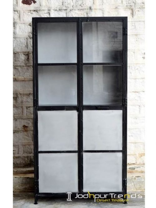 Metal Hutch Cabinet | Commercial Furniture Modern