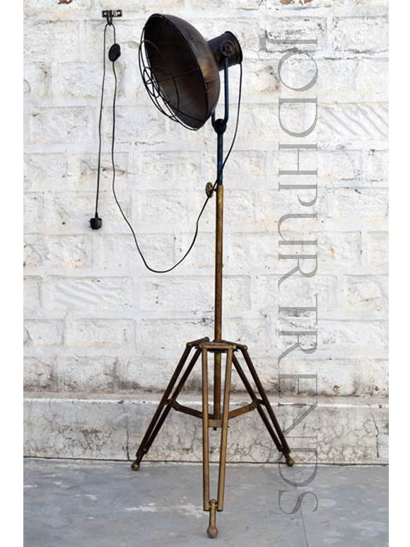 Vintage Tripod Floor Lamp | Vintage Retro Furniture