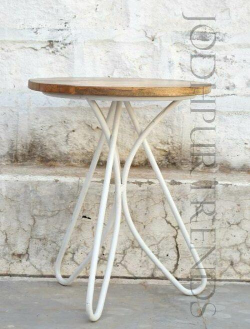 Cafe Stool in White | Furniture Retro