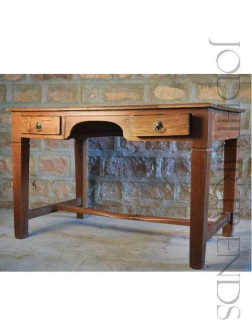 Antique Writing Desk | Reclaimed Wood Furniture Rustic