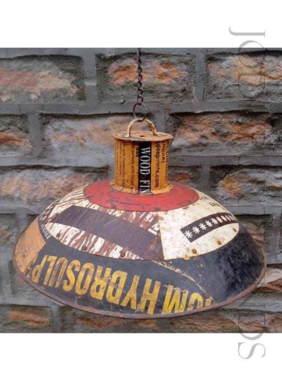 Rustic Industrial Pendant Light | Rustic Restaurant Furniture
