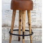 Vintage Bar-Height Stool | Retro Restaurant Furniture