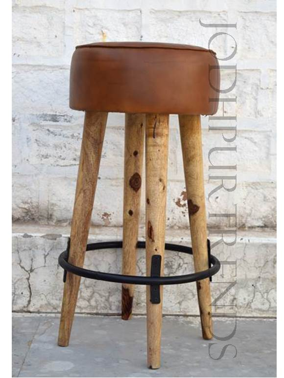Vintage Bar-Height Stool | Retro Restaurant Furniture