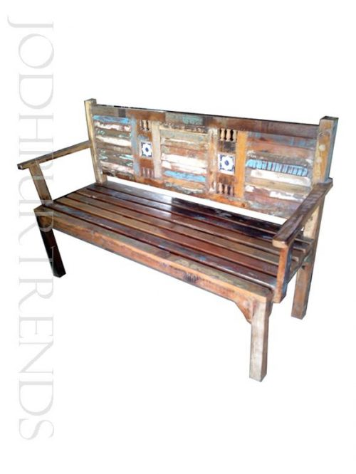 Reclaimed Bench | Indian Wooden Furniture