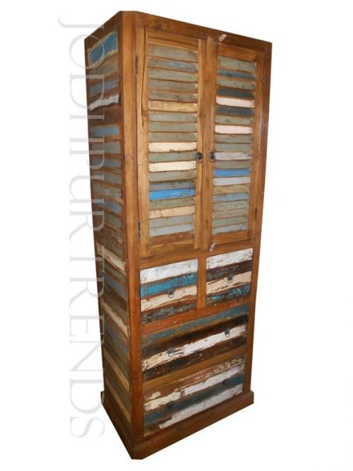 Reclaimed Vintage Armoire | Wholesale Furniture Vintage
