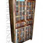 Indian-style Vintage Wardrobe | Wooden Vintage Furniture