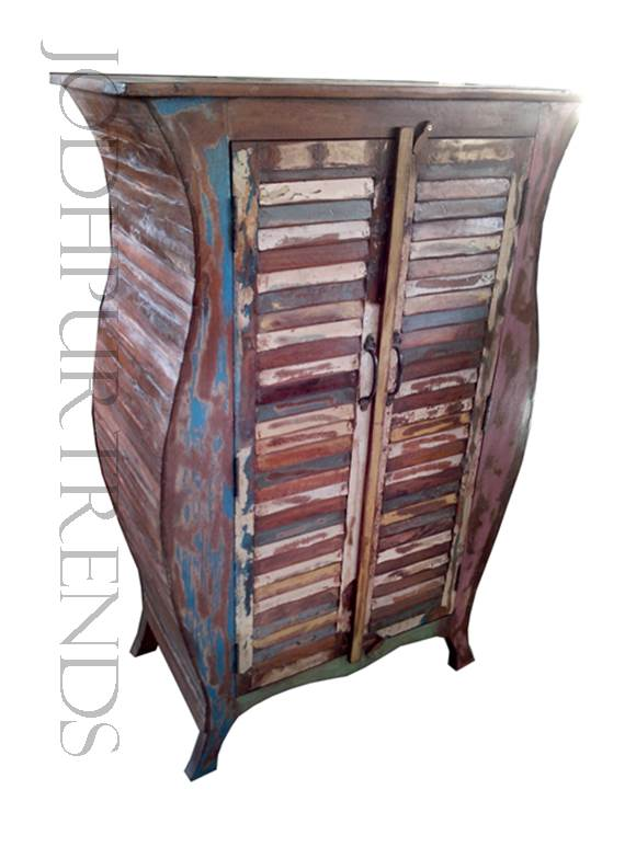 Indian Boho-style Wardrobe | Vintage Shabby Chic Furniture