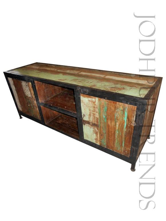Reclaimed Wood TV Unit | Luxury Rustic Furniture