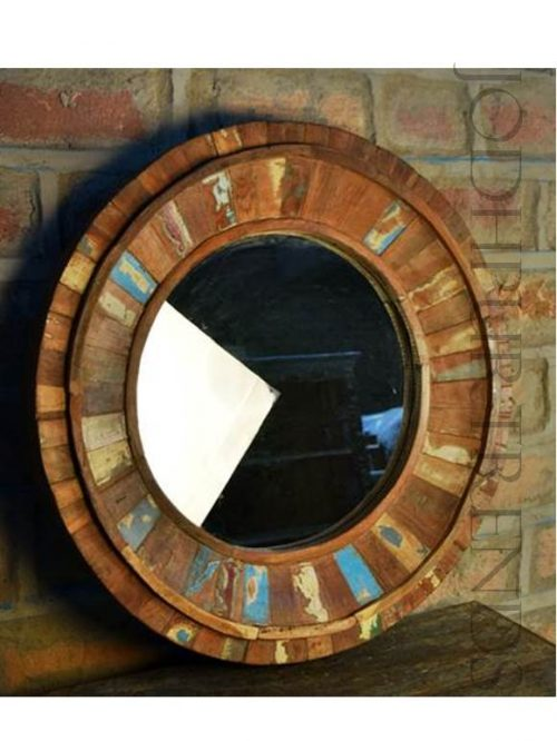 Rustic Handcrafted Mirror Frame | Rustic Living Room Furniture