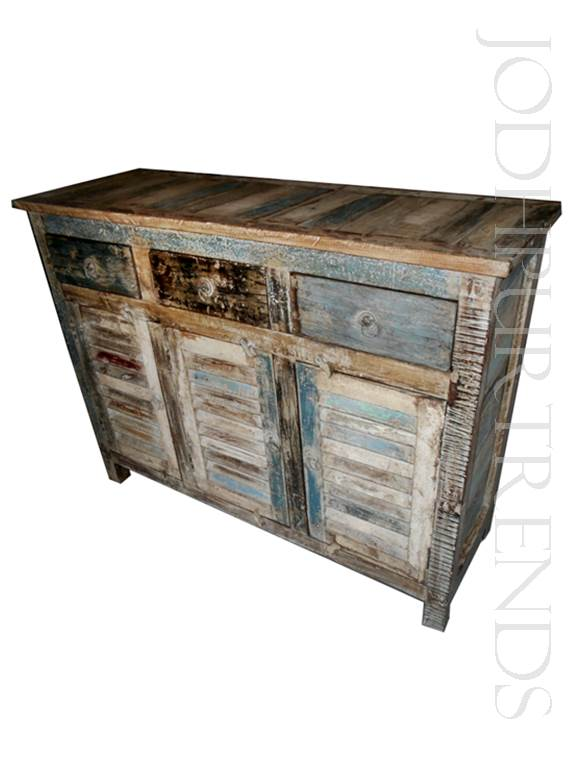 Shabby Chic Sideboard | Indian Handmade Furniture