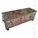 Reclaimed Wood Steamer Trunk | Furniture Imports India