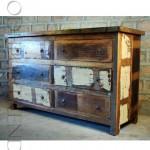Chest of Drawers in Reclaimed Wood   Loft Furniture Industrial