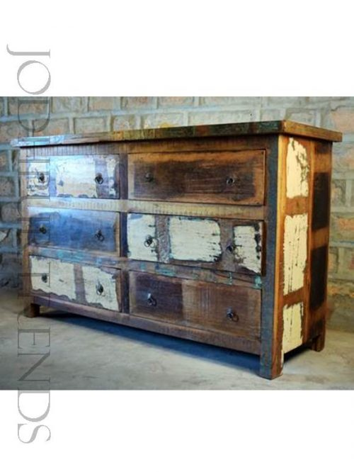 Chest of Drawers in Reclaimed Wood | Loft Furniture Industrial