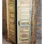 Vintage Wardrobe in Reclaimed Wood | Vintage Wood Furniture