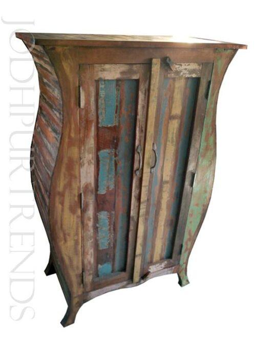 Antique Indian Wardrobe | Indian Vintage Furniture