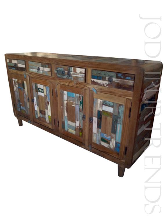 Indian Reclaimed-Wood Sideboard | Furniture Made In India