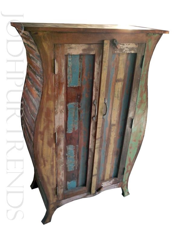 Antique Indian Wardrobe | Indian Vintage Furniture