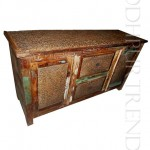 Sideboard in Reclaimed Wood   India Furniture Manufacturers