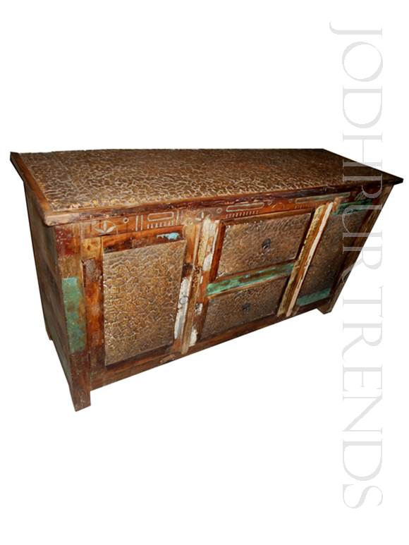 Sideboard in Reclaimed Wood | India Furniture Manufacturers