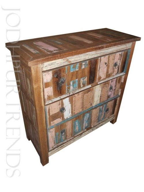 Rustic Chest of Drawers | Reclaimed Wood Furniture Recycled Furniture