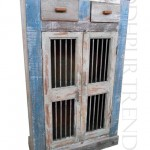 Curio Cabinet in French Provincial Design   Vintage French Country Furniture