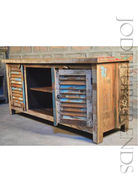 Rustic TV Unit | Rustic Wooden Furniture