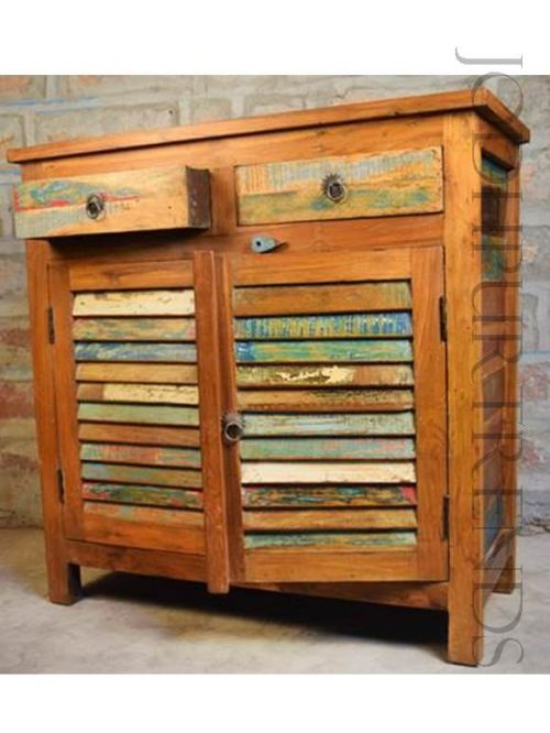 Vintage Indian Sideboard   Vintage Furniture India
