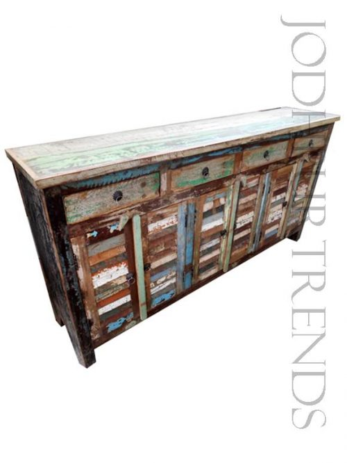 Retro Distressed Sideboard   Furniture From India