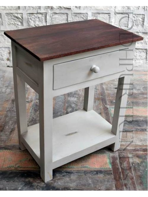 French Chic Bedside Table | Furniture Manufacturer India