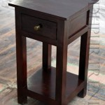 Solidwood Bedside Table | Reclaimed Wood Furniture India