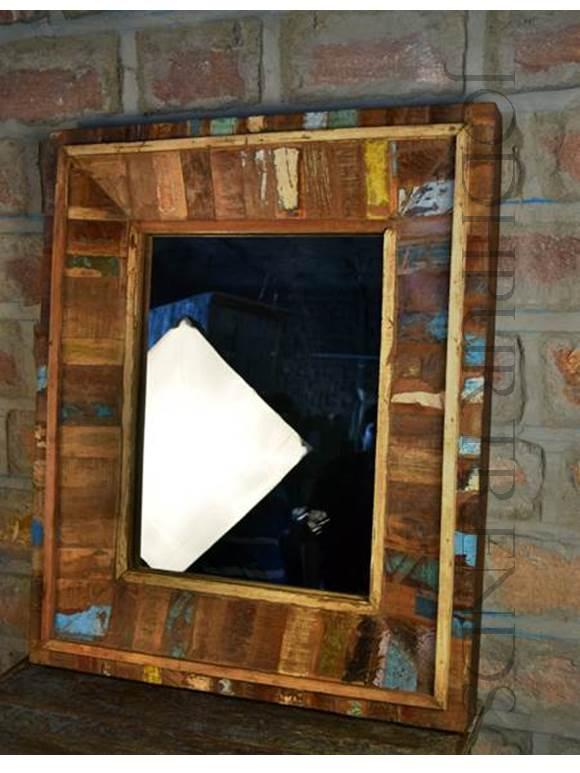 Hand Carved Mirror Frame | Hand Carved Indian Furniture