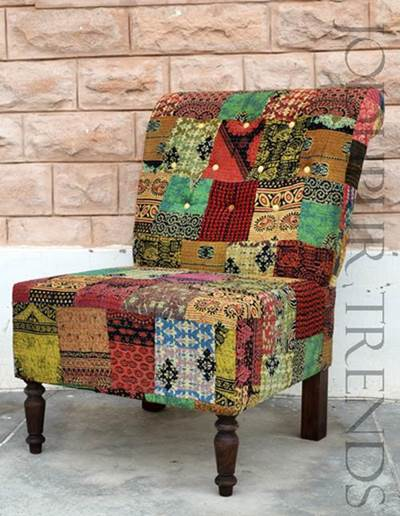 Recycled Fabric Armchair | Recycled Wood Furniture Manufacturers