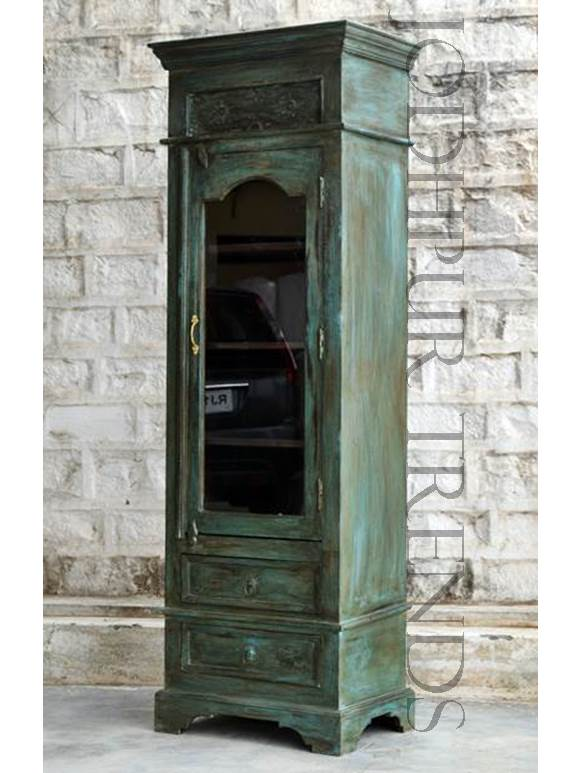 Bookcase in Reclaimed Wood | Antique Reproduction Furniture Makers