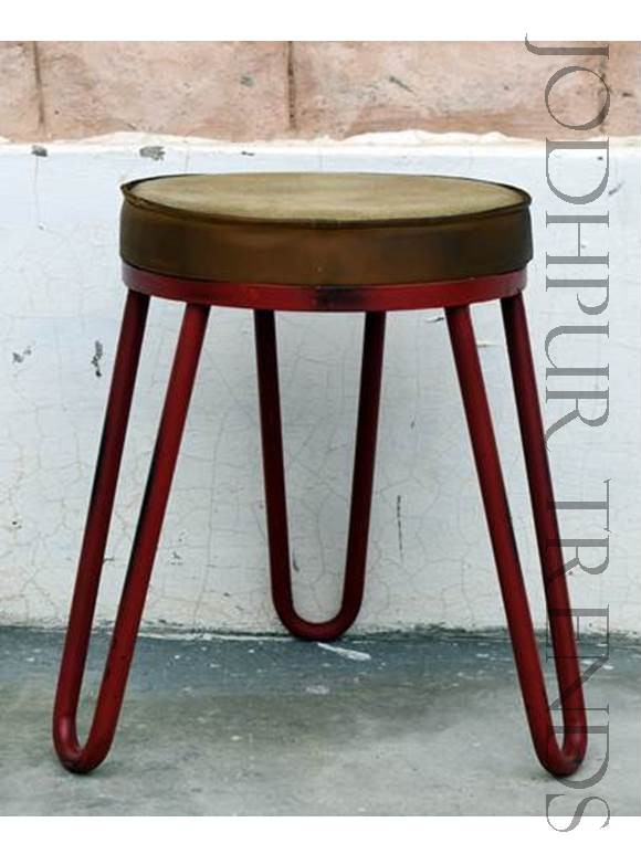Industrial Metal Stool | Metal Restaurant Chairs For Sale
