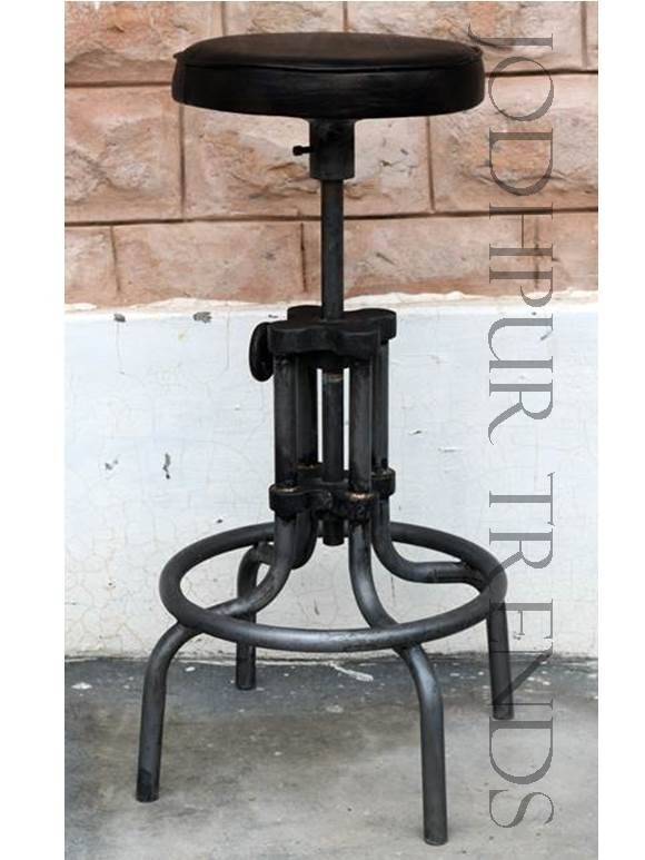 Adjustable Bar Stool | Bespoke Furniture Online India