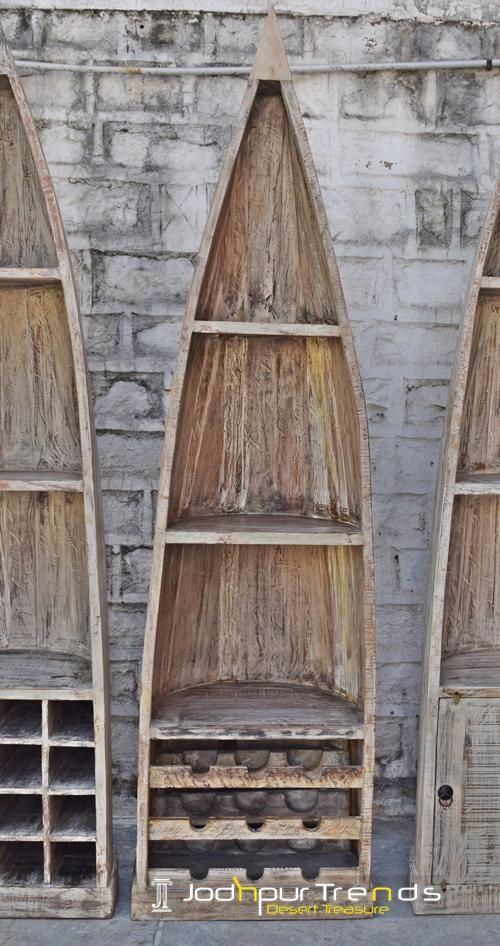 wooden wine cabinet wine bar design